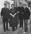 Celestino Sánchez Rivera coa colonia estranxeira en Cuntis 1921.jpg