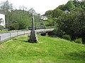Celtic cross war memorial at Herodsfoot - geograph.org.uk - 1310123.jpg