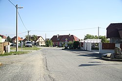 Center of Pozďatín, Třebíč District.jpg