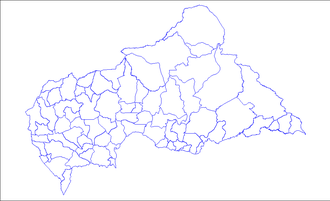 Sub-prefectures of the Central African Republic - Sub-Prefectures of the Central African Republic