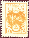 Central Lithuania 1921 MiNr 022A B002.png