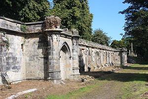 Warriston Cemetery - Central vaults, Warriston Cemetery