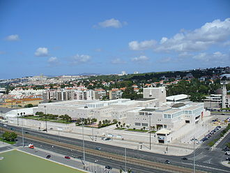 Cultural Centre of Belém - Cultural Centre of Belém seen from the Padrão dos Descobrimentos