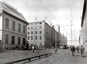 Otto Bemberg - The Quilmes Brewery, around the time of its 1890 inaugural.