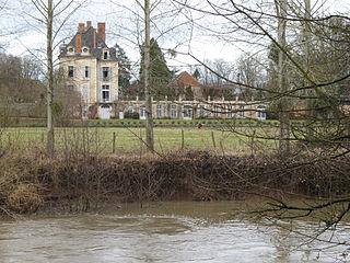 La Ferté Abbey abbey located in Saône-et-Loire, in France