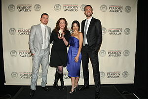 Channing Tatum - Channing Tatum, Deborah Scranton, Jenna Dewan Tatum and Reid Carolin at the 71st Annual Peabody Awards for Earth Made of Glass