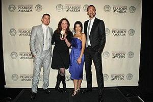 Channing Tatum - Channing Tatum, Deborah Scranton, Jenna Dewan Tatum and Reid Carolin at the 71st Annual Peabody Awards for Earth Made of Glass