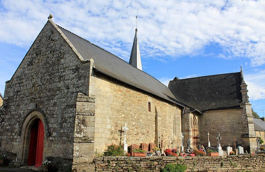 Chapelle Saint-Gobrien de Saint-Servant: vue générale