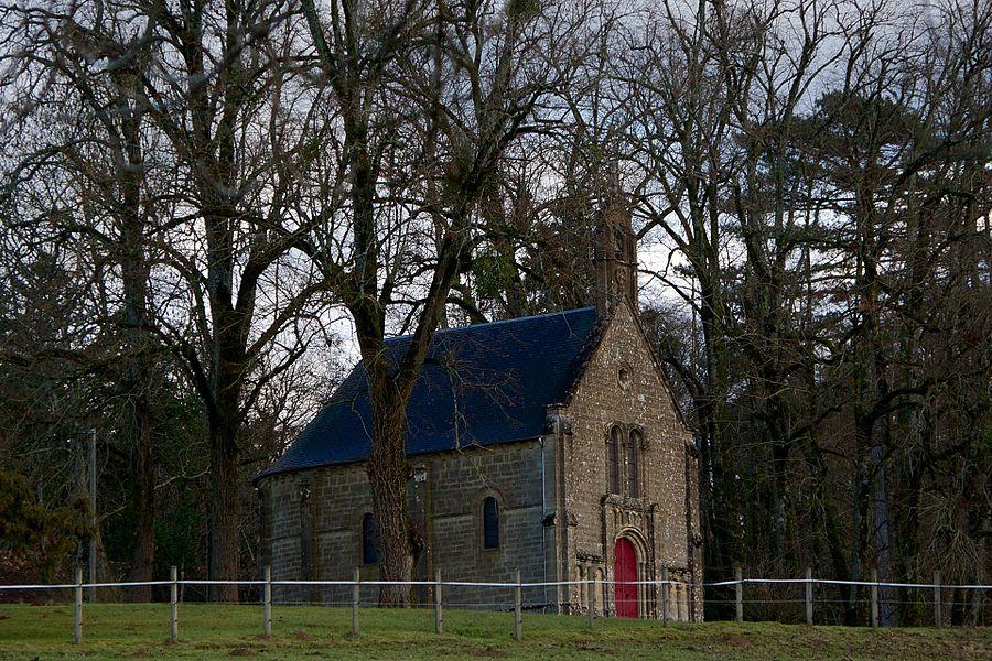 Castel of Saulières Chapel