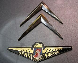 Henri Chapron - A Henri Chapron badge