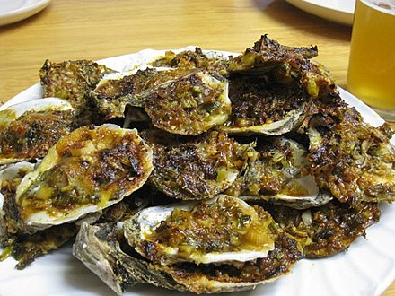 Chargrilled oysters Chargrilled oysters.jpg