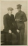 Charles Kerr (right) and an unidentified man (10684075185).jpg