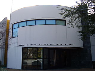 Charles M. Schulz Museum and Research Center museum located in Santa Rosa, California