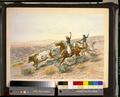 Charles Marion Russell - Buccaroos (1902) original.png