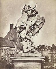 Statue des Tuileries: G. Marsy et A. Flamen: Borée enlevant Orythie