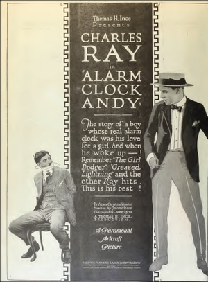 Alarm Clock Andy - Ad for film