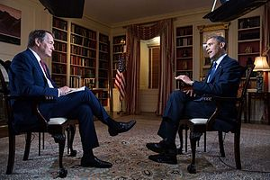 Charlie Rose - Charlie Rose interviews President Barack Obama in 2013