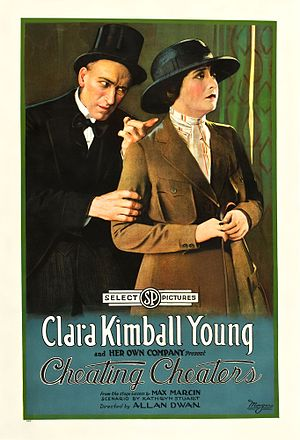 Cheating Cheaters (1919 film) - Film poster
