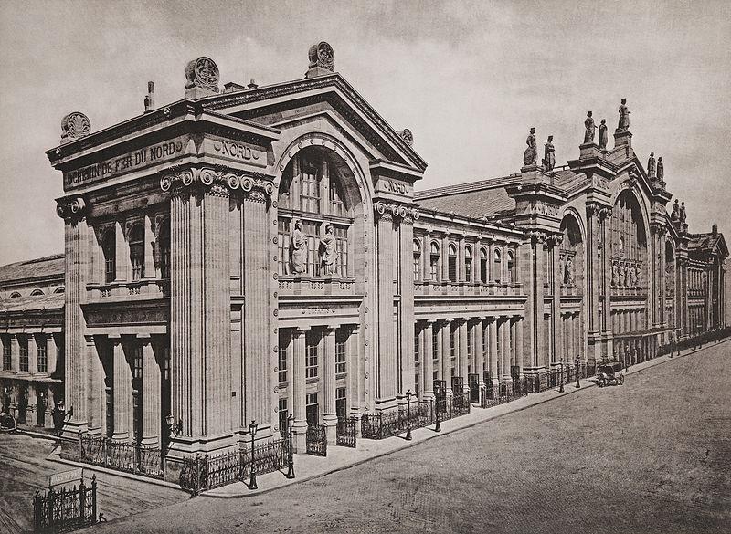 Fichier:Chemin de Fer du Nord. Gare de Paris - Les Travaux Publics de la France.jpg