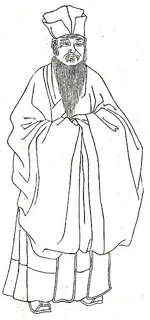 Cheng Yi (philosopher) - Imaginary of Cheng Yi by Shangguan Zhou (上官周, b. 1665).