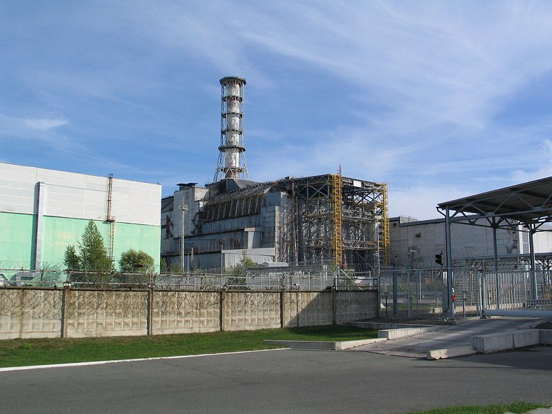 Сурет:Chernobyl, fourth reactor bloc.JPG