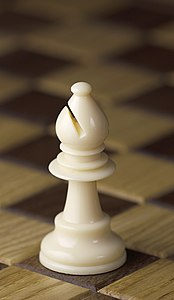 Chess piece - White bishop.JPG