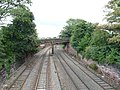 Chester City Walls - north wall footbridge over railway.jpg