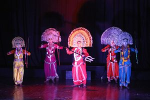 Chhau dance - Chhau dance performing artists