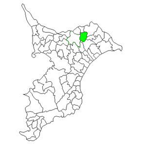 Taiei, Chiba - Image: Chiba Taiei town