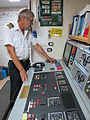Chief engineer in control room.JPG