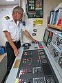 Chief engineer in control room.JPG