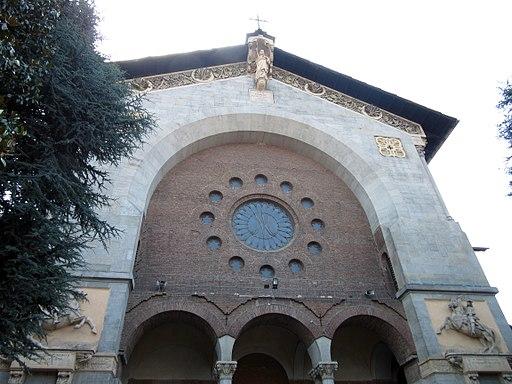Chiesa della Salute, facciata, scorcio (Fab18 giu17)