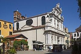 Chiesa di Santa Maria del Giglio e il campo Venezia.jpg