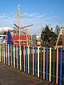 Children's play area in Mayflower Park - geograph.org.uk - 1722334.jpg