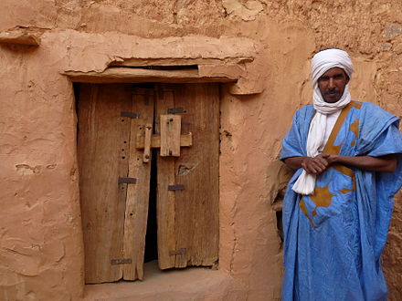 Chinguetti was a center of Islamic scholarship in West Africa. Chinguetti-Guide.JPG