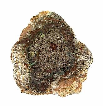 Chlorargyrite - Image: Chlorargyrite Embolite rh 3 10a