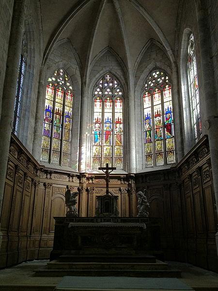 Choeur de l'église Abbatiale Saint-Michel de Nantua