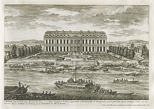 Château de Choisy - The château at the time of la Grande Mademoiselle
