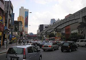 Chow Kit - Jalan Tuanku Abdul Rahman in Chow Kit