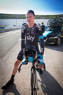 Chris Froome - The First Man to Cycle through the Eurotunnel (14593593775)