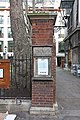 Christchurch Greyfriars, Newgate Street, London EC1 - Notice board - geograph.org.uk - 1140823.jpg