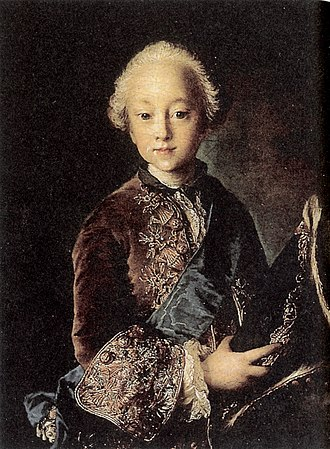 Christian VII of Denmark - Christian as a boy