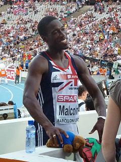 Christian Malcolm Welsh sprinter