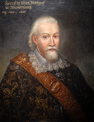 Christian, Margrave of Brandenburg-Bayreuth - Christian,Margrave of Brandenburg-Bayreuth at an older age