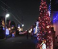 Christmas Illumination in Ooba-chou in 2006.jpg