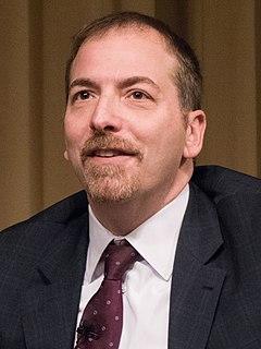 Chuck Todd American journalist