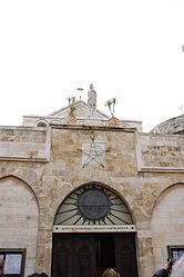 Church of Saint Catherine courtyard, Bethlehem 3.jpg