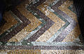 Church of St Mary the Virgin, Shipley, West Sussex, England ~ interior floor tiles in tower.JPG