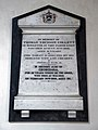Church of St Mary the Virgin, Woodnesborough, Kent - Thomas Trusson Collett memorial tablet.jpg