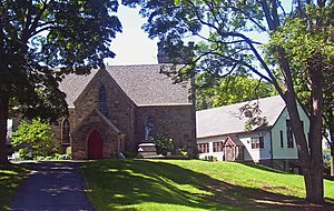 Hudson Highlands Multiple Resource Area - The Church of the Holy Innocents and its rectory
